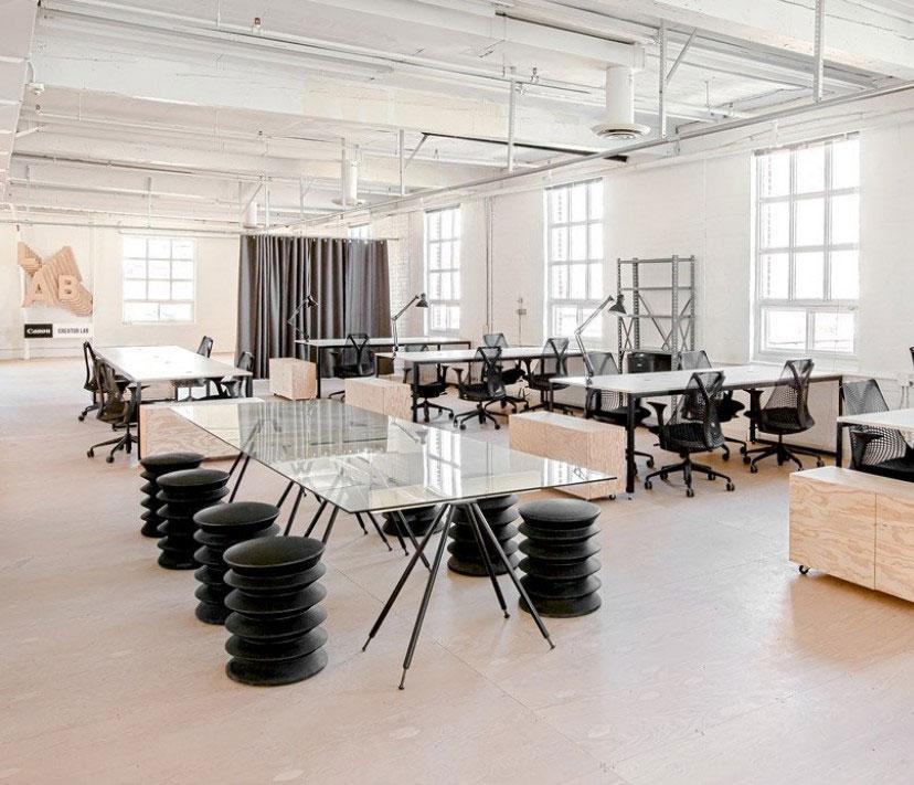 Desain Ruangan Kantor Bergaya Minimalis