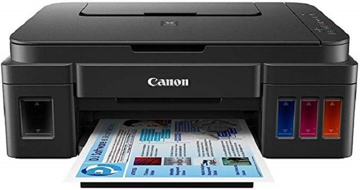 rekomendasi printer untuk kantor merek canon pixma g3000